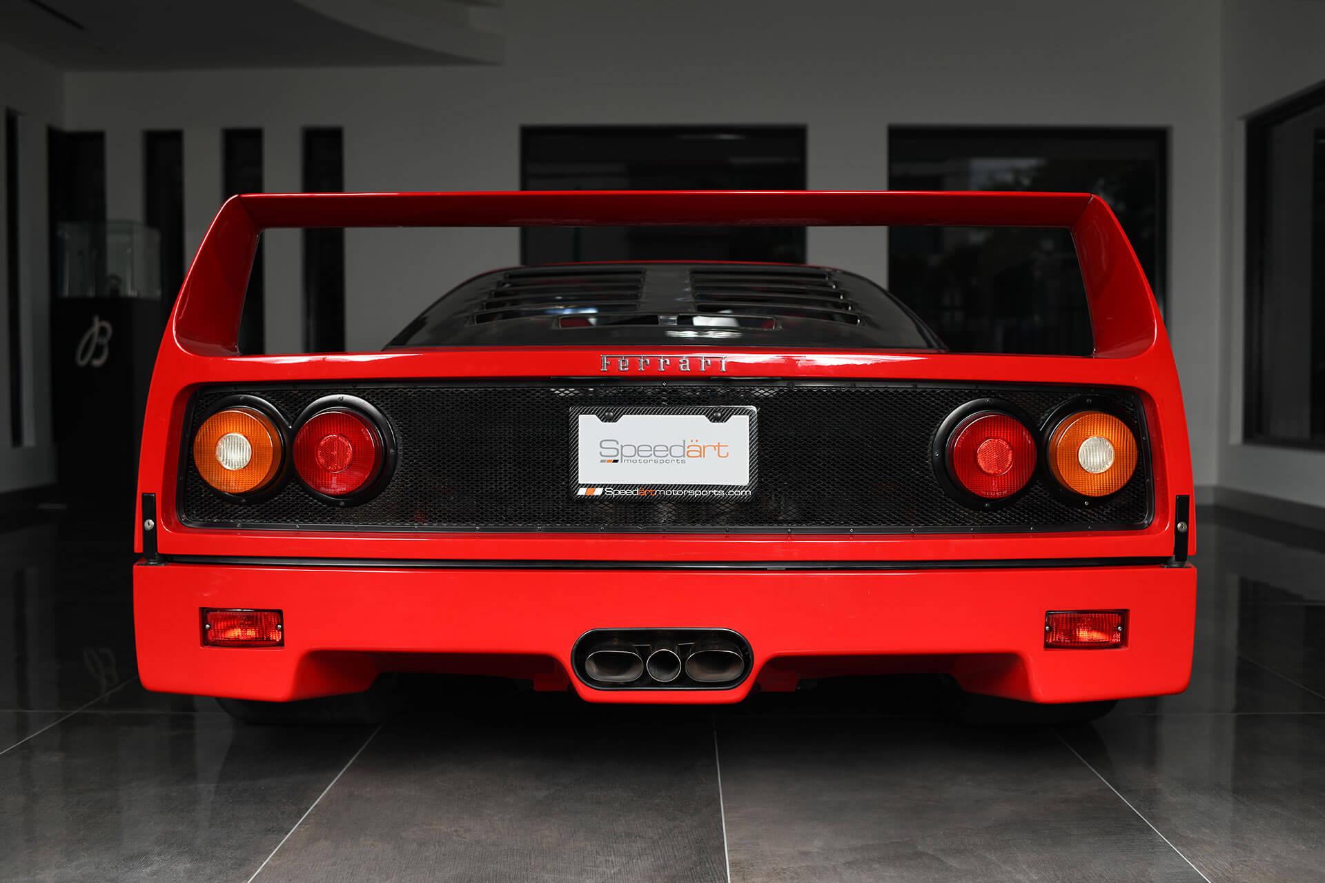 1989 Ferrari F40 Speedart Motorsports Speedart Motorsports