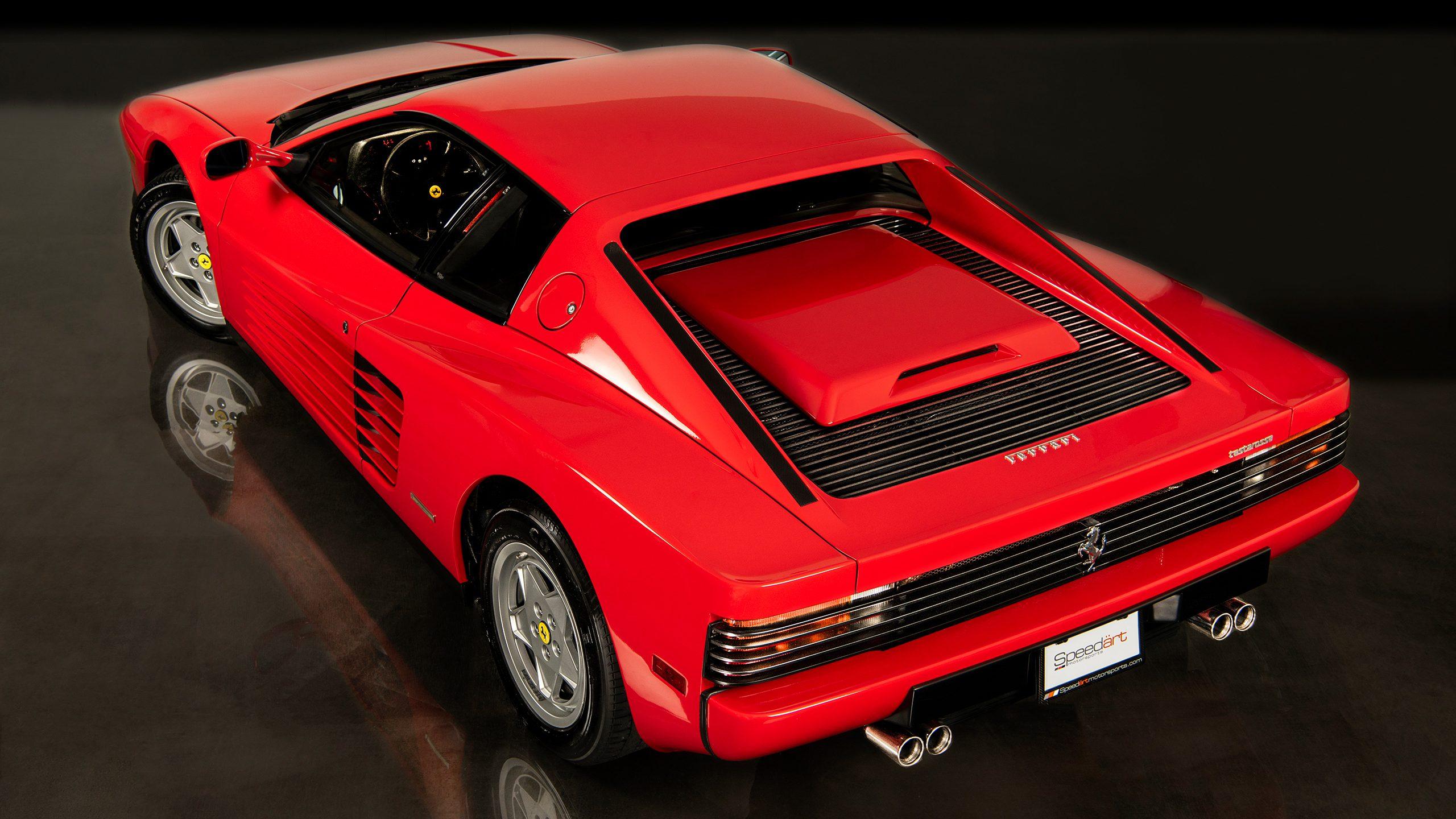 1988 Ferrari Testarossa Speedart Motorsports Speedart Motorsports